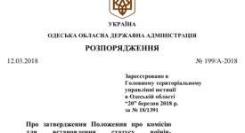 Про затвердження Положення про комісію для встановлення статусу воїнів-добровольців антитерористичної операції (ДОКУМЕНТ)