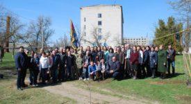 Воїни Одещини, які брали участь в україно-російській війні, відвідали село Курісове